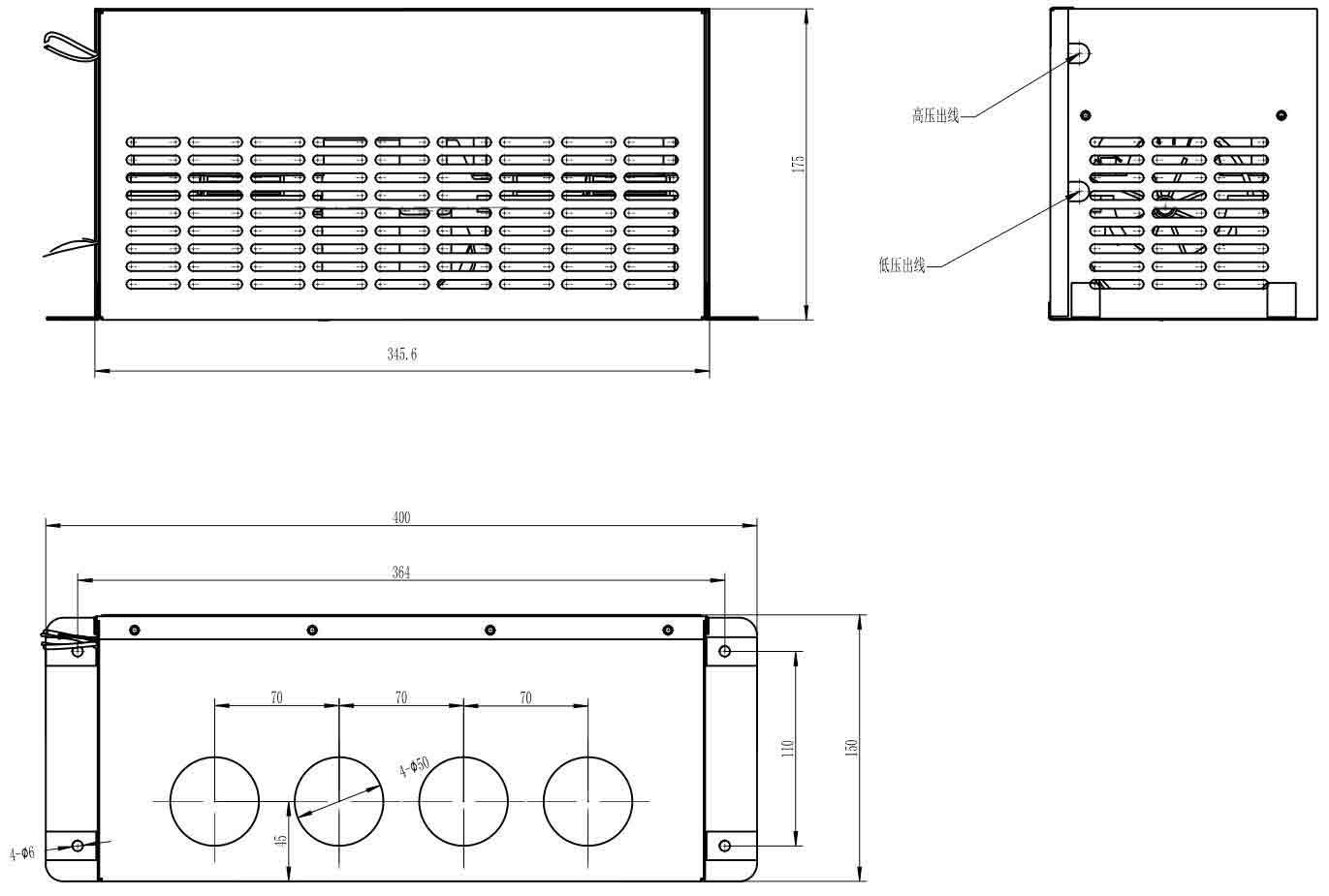 354-32002PTC高压电除霜器