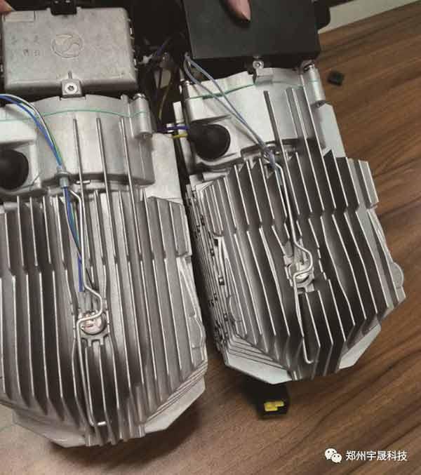 驻车加热器换热器对比