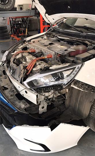秦EV300安装驻车加热器位置