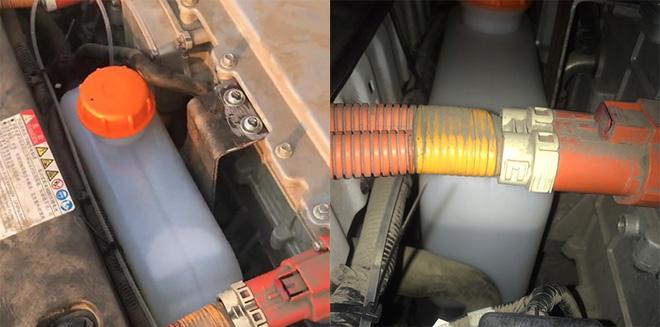 秦EV300安装固定油壶