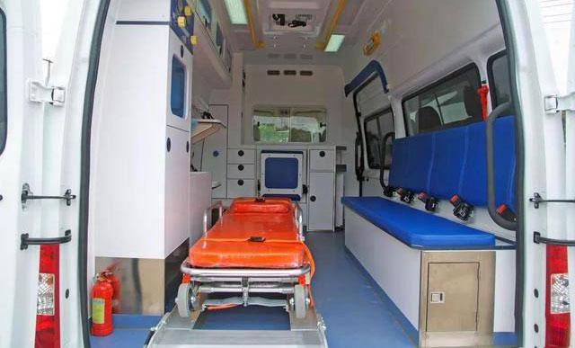 负压救护车医疗舱加热取暖