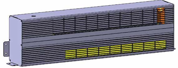 PTC电散热器