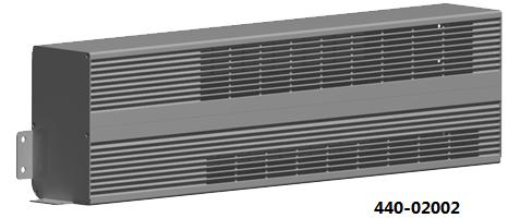 新能源纯电公交客车PTC高压电壁挂散热器